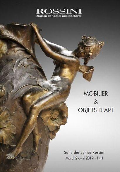Vente cataloguée Mobilier, Objets d'Art & Civilisations
