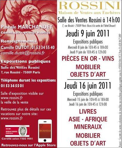 Mobilier-Objets d'Art, Or, pièces, vins