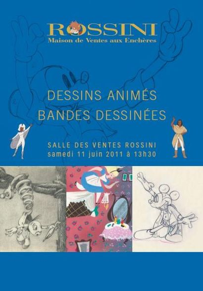DESSINS ANIMES - BANDES DESSINES - Vente Live