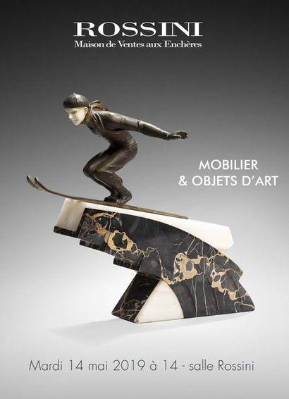 Vente Mobilier, Objets d'art & Livres