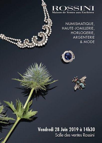 Numismatique, Haute Joaillerie, Horlogerie, Argenterie & Mode