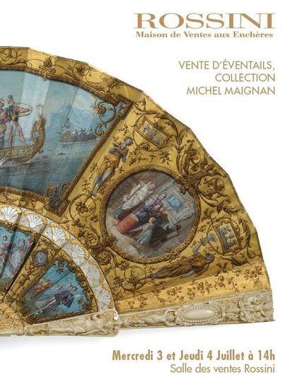 Vente Éventails - Collection Michel Maignan (1e partie)