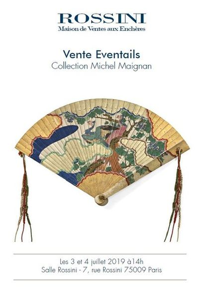 Vente Éventails - Collection Michel Maignan (2e partie)
