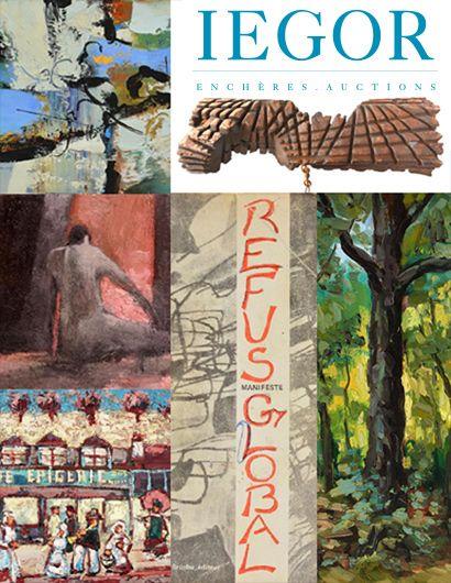 21 JANVIER 2020 | 19H30 | ŒUVRES D'ART DU CANADA ET D'AILLEURS