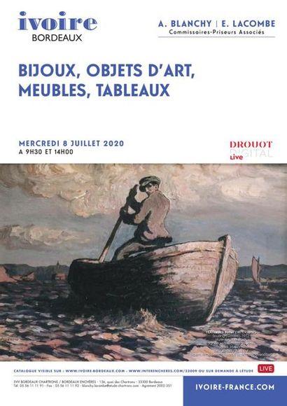 Argenterie - Bijoux - Mobilier - Objets d'Art - Tableaux