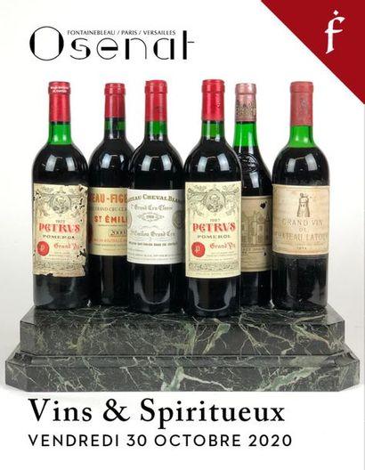 [VENTE LIVE A HUIS CLOS] Vins & Spiritueux