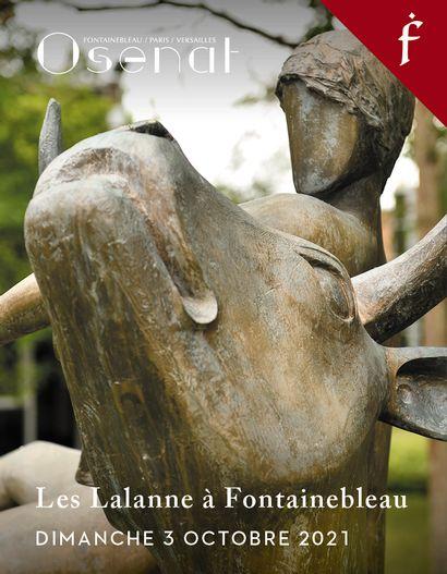 Les Lalanne à Fontainebleau