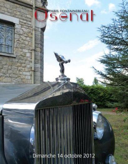 vente Automobiles de collection incluant la collection de monsieur P