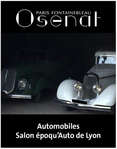 Automobiles - Salon époqu'Auto de Lyon 50 automobiles de collection incluant la collection Massimi-Marrel