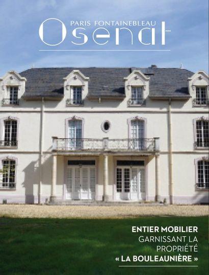 Entier mobilier garnissant la propriété «La Bouleaunière» (Grez-sur-Loing)