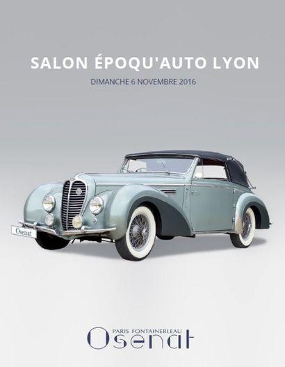 Salon Époque'Auto - Automobiles et canots automobiles de collection - Automobilia