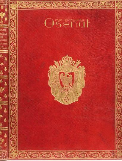 L'Empire à Fontainebleau , manuscrits, livres prestigieux et grandes provenances, gravures, dessins, tableaux, souvenirs de l'empire