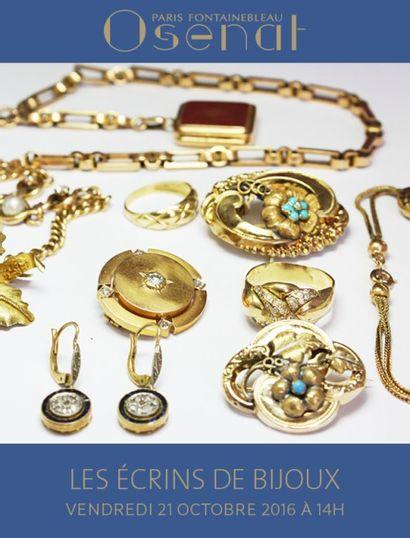 Les Écrins à Bijoux ( chaines, alliances, numismatique, lots de bijoux...)