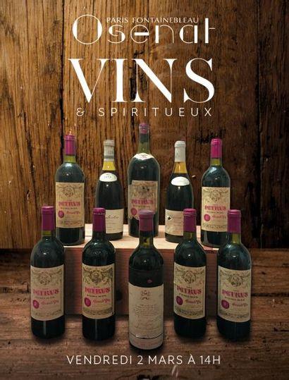 Vente à 11h et 14h : Vins & Spiritueux