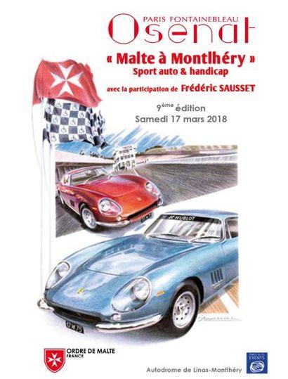 « Malte à Montlhéry » Enchères caritatives