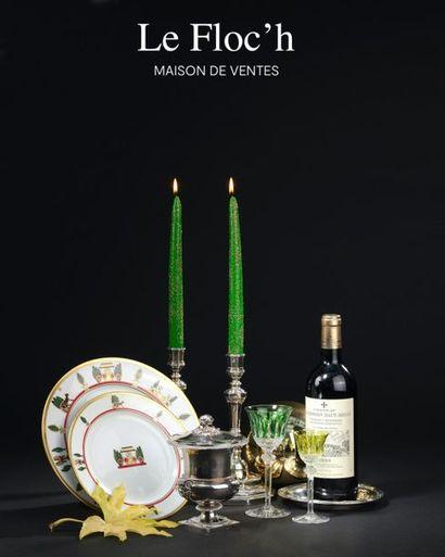 FINE WINES, CHAMPAGNES, SPIRITS & TABLEWARE