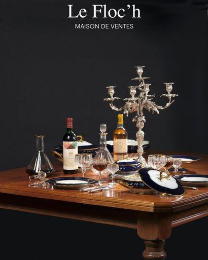 VINS, CHAMPAGNES, SPIRITUEUX & ARTS DE LA TABLE