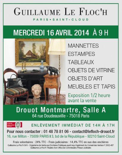 Vente Courante à Drouot Montmartre