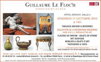 Vente Classique à Drouot Richelieu