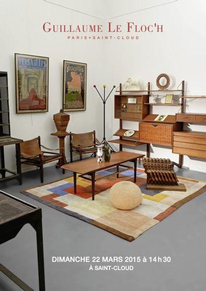 Fond d'Atelier de l'artiste François d'ALBIGNAC et mobilier Industriel & Design