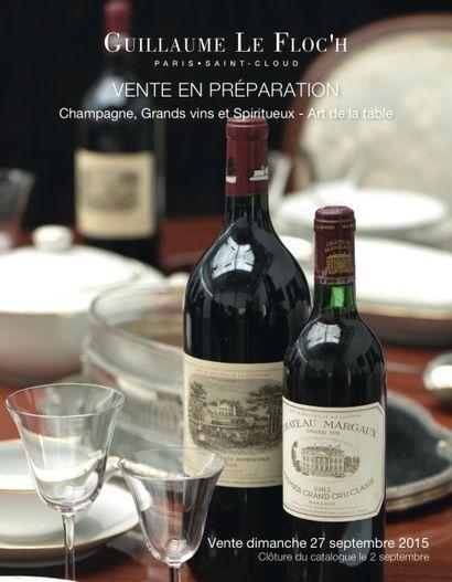 Grands Vins, Spiritueux & Arts de la Table