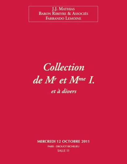 Collection de Mr etMmeI. et à divers