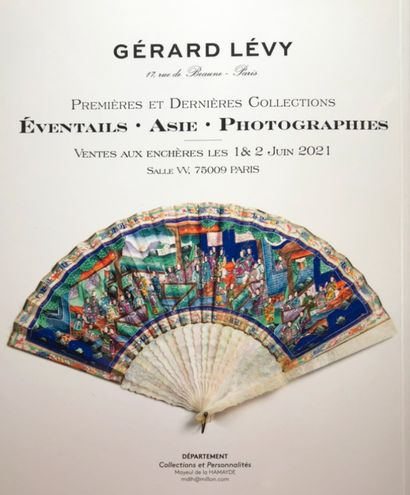 GERARD LEVY : Premières et Dernières Collections - Eventails et Asie