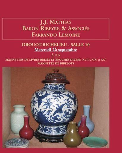 Meubles et objets d'art - Vente à 11h00 et 13h30