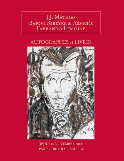 Autographes Livres anciens et modernes