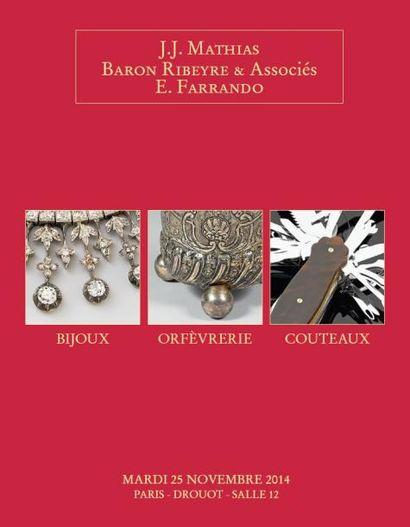 Bijoux - Orfèvrerie - Couteaux Collection du coutelier F.A. Peter (2e vente)