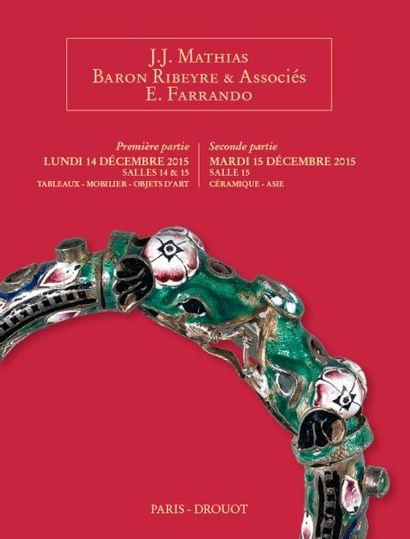 Collection de céramiques de Monsieur D. CÉRAMIQUES - ART d'ASIE Lots 300 à 585