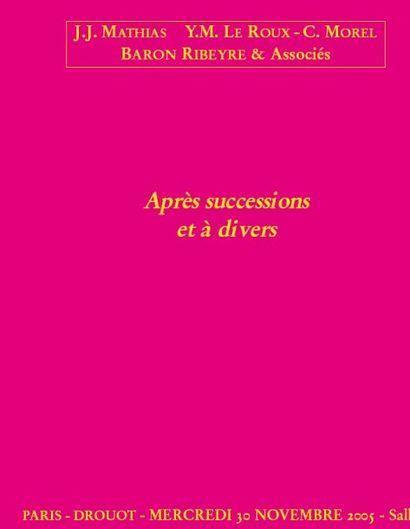 Mobilier & objets d'art - Tableaux - bijoux - argenterie,...