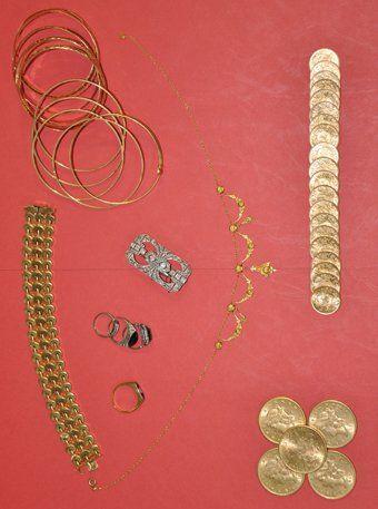 Monnaies et Bijoux