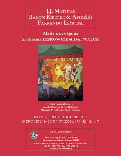 Dan WALCK (1909-2002) / Katherine LIBROWICZ (1912-1991)