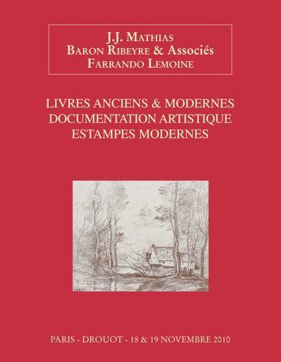 Livres illustrés et estampes modernes