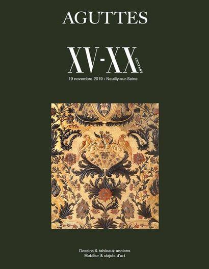 XV-XXE SIÈCLE : MOBILIER & OBJETS D'ART, TABLEAUX ANCIENS
