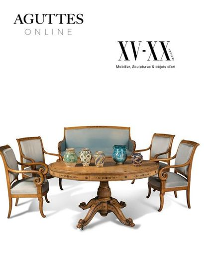 ONLINE ONLY : XV-XXe SIÈCLE, MOBILIER & OBJETS D'ART