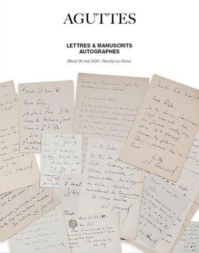 LETTRES & MANUSCRITS AUTOGRAPHES - PARTIE I
