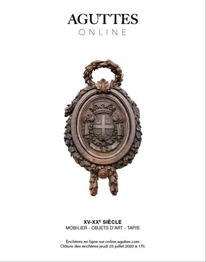 ONLINE ONLY : XV-XXTH CENTURY, FURNITURE & OBJECTS OF ART