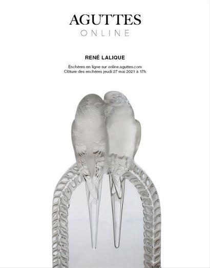 ONLINE ONLY : LALIQUE &  ARTS DÉCORATIFS DU 20e SIÈCLE