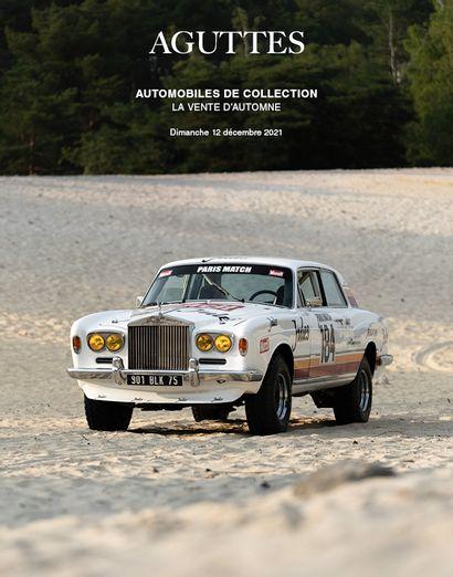 AUTOMOBILES DE COLLECTION - LA VENTE D'AUTOMNE