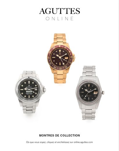 ONLINE ONLY : MONTRES DE COLLECTION
