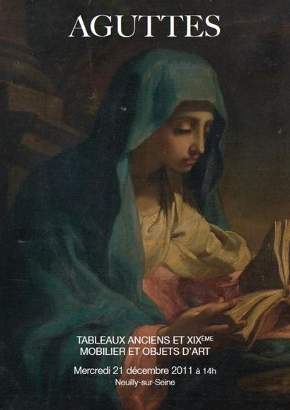 tableaux anciens et XIXème mobilier et objets d'art