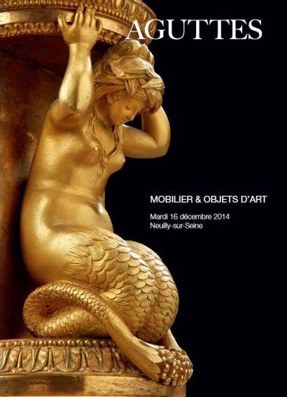 MOBILIER, OBJETS D'ART