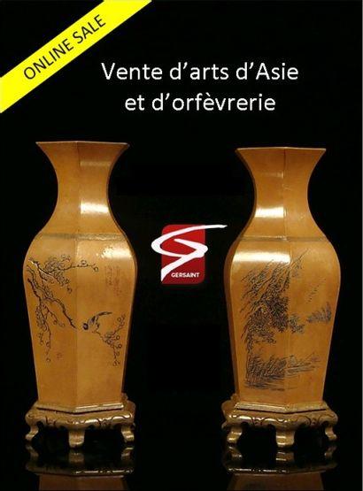 Vente en Ligne - Art d'Asie et Orfèvrerie
