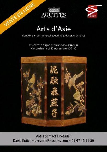 Vente en Ligne - Arts d'Asie