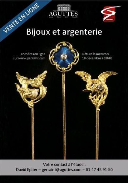 Vente en Ligne - Orfèvrerie et bijoux