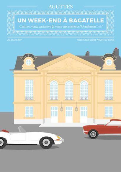 UN WEEK-END À BAGATELLE - GENTLEMEN ONLY : Automobiles, Bagagerie, Bijoux, Horlogerie, Art Contemporain, Vins & Spiritueux...