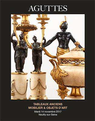 DESSINS & TABLEAUX ANCIENS - ARGENTERIE MOBILIER & OBJETS D'ART