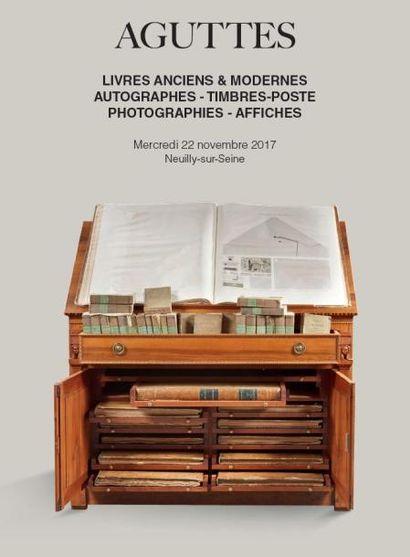 LIVRES AUTOGRAPHES, TIMBRES-POSTE